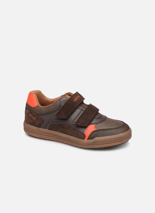 Sneakers Geox J Arzach Boy J944AD Bruin detail