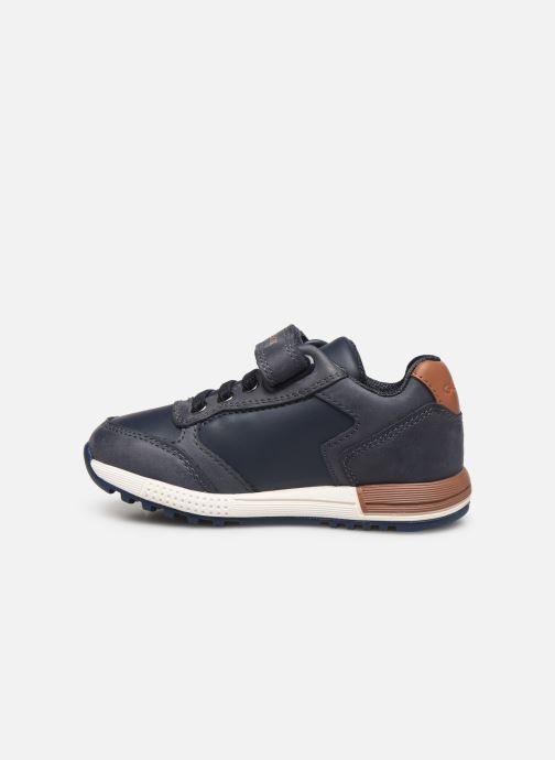 Sneakers Geox B Alben Boy B943CB Blauw voorkant