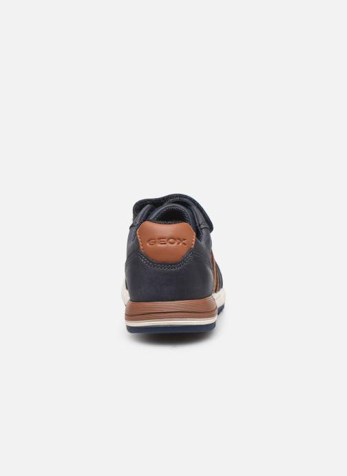 Sneakers Geox B Alben Boy B943CB Blauw rechts