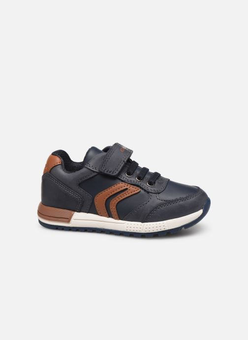 Sneakers Geox B Alben Boy B943CB Blauw achterkant