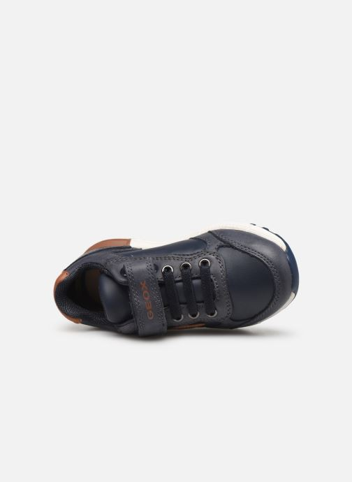 Sneakers Geox B Alben Boy B943CB Blauw links