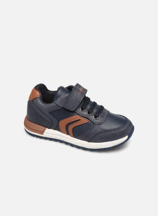 Sneakers Geox B Alben Boy B943CB Blauw detail