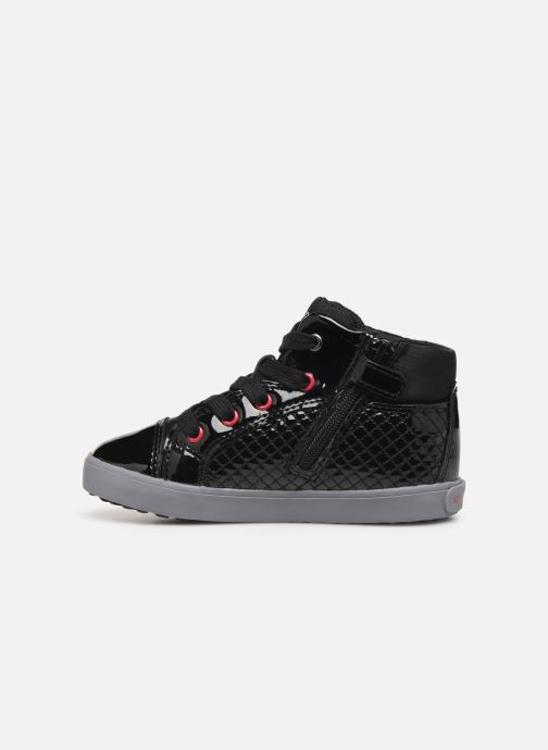 Sneakers Geox B Kilwi Girl B94D5B Zwart voorkant