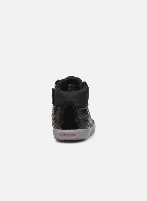 Sneakers Geox B Kilwi Girl B94D5B Nero immagine destra