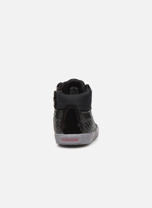 Sneakers Geox B Kilwi Girl B94D5B Zwart rechts