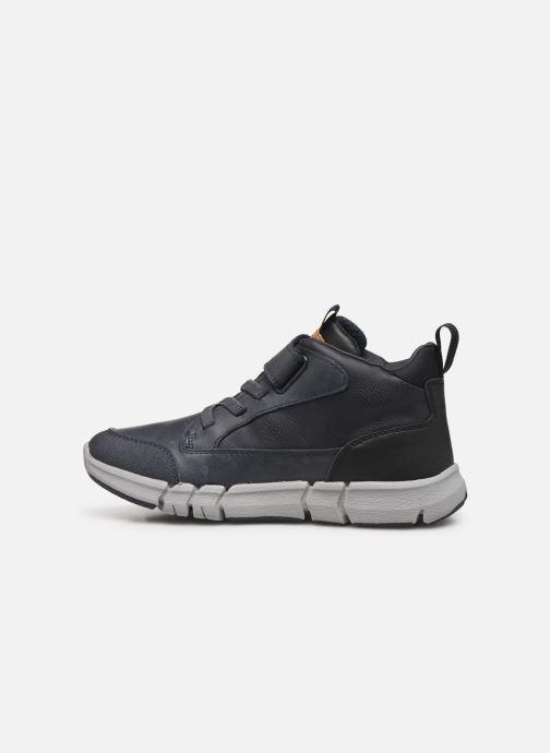 Sneakers Geox J FLEXYPER BOY Blauw voorkant