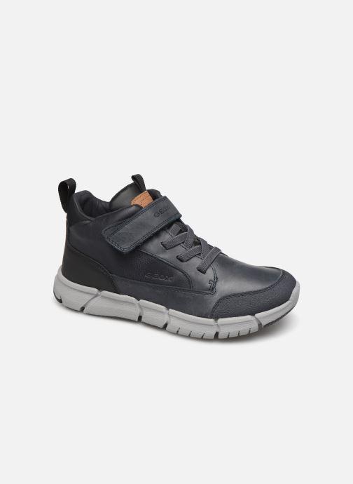Sneakers Geox J FLEXYPER BOY Blauw detail