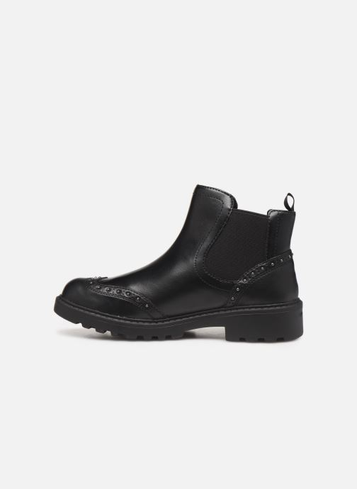 Ankle boots Geox J Casey Girl J9420E Black front view