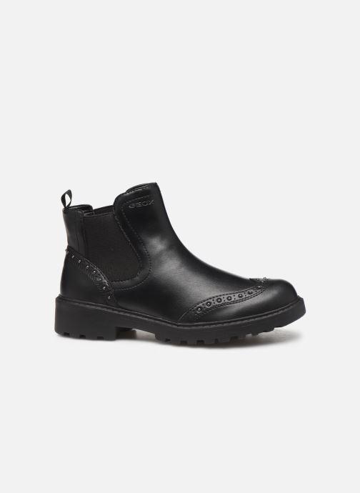 Boots en enkellaarsjes Geox J Casey Girl J9420E Zwart achterkant