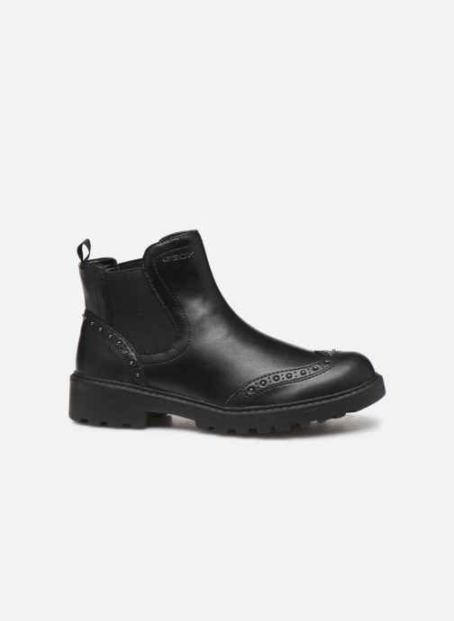 Ankle boots Geox J Casey Girl J9420E Black back view
