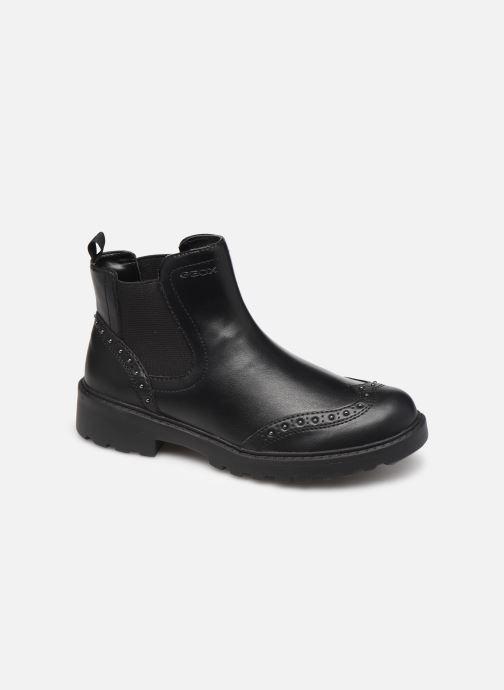 Boots en enkellaarsjes Geox J Casey Girl J9420E Zwart detail