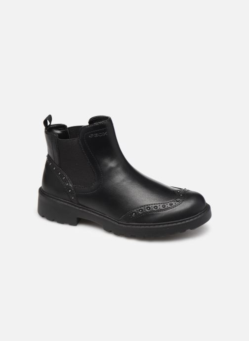Ankle boots Geox J Casey Girl J9420E Black detailed view/ Pair view