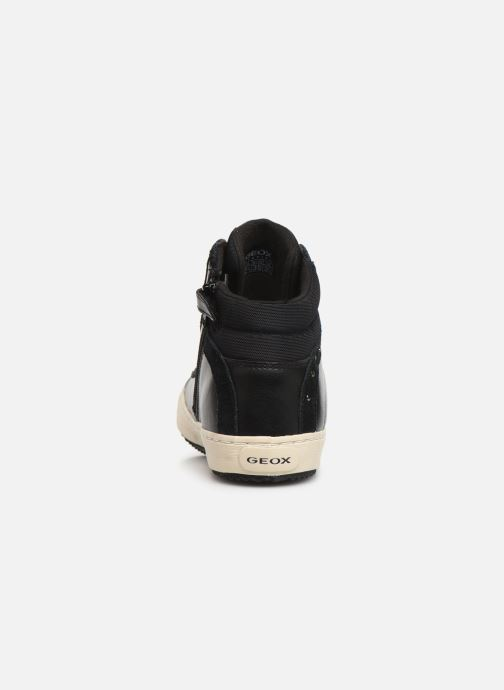Sneakers Geox J Kalispera Girl J944GH Zwart rechts