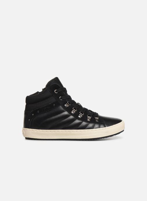 Sneakers Geox J Kalispera Girl J944GH Zwart achterkant