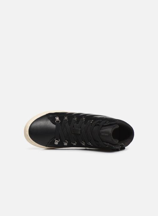 Sneakers Geox J Kalispera Girl J944GH Zwart links
