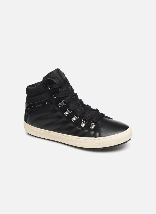 Sneakers Geox J Kalispera Girl J944GH Zwart detail