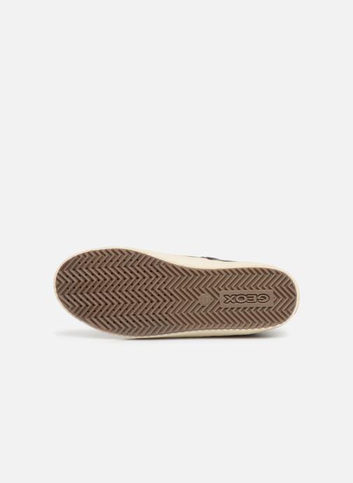 Sneakers Geox J Kalispera Girl J944GH Goud en brons boven