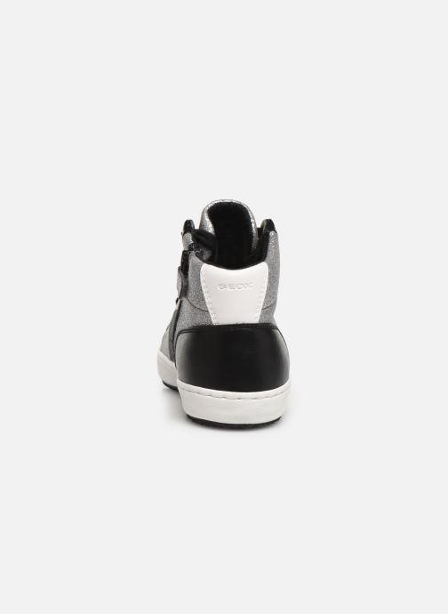Sneakers Geox J Kalispera Girl J944GP Argento immagine destra