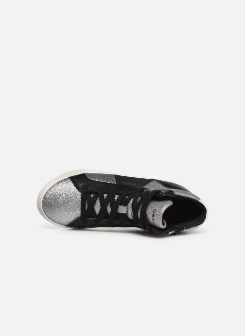 Sneakers Geox J Kalispera Girl J944GP Argento immagine sinistra