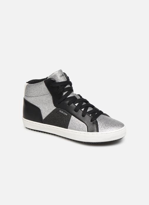 Sneakers Geox J Kalispera Girl J944GP Argento vedi dettaglio/paio