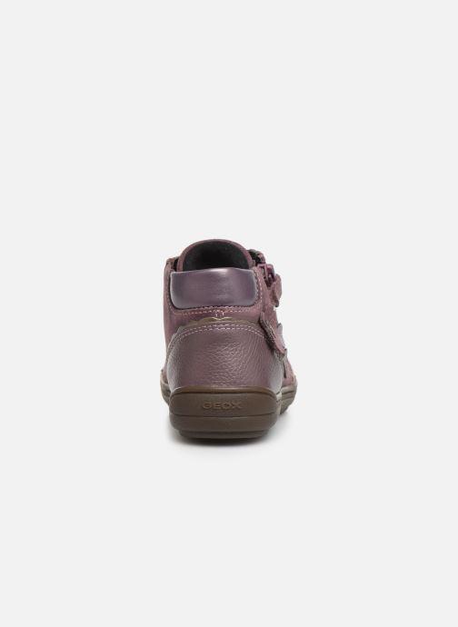 Sneakers Geox J Hadriel Girl J947VA Roze rechts