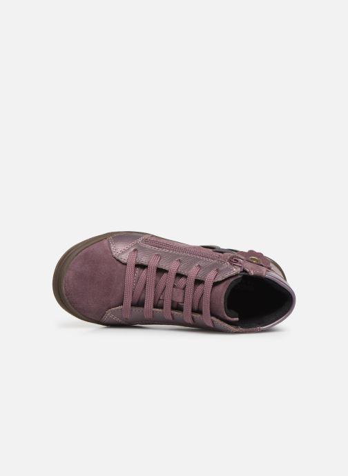 Sneakers Geox J Hadriel Girl J947VA Roze links