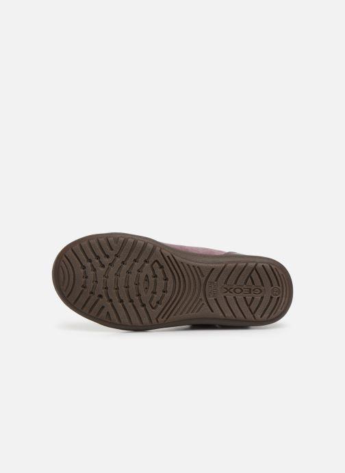 Sneakers Geox J Hadriel Girl J947VA Roze boven