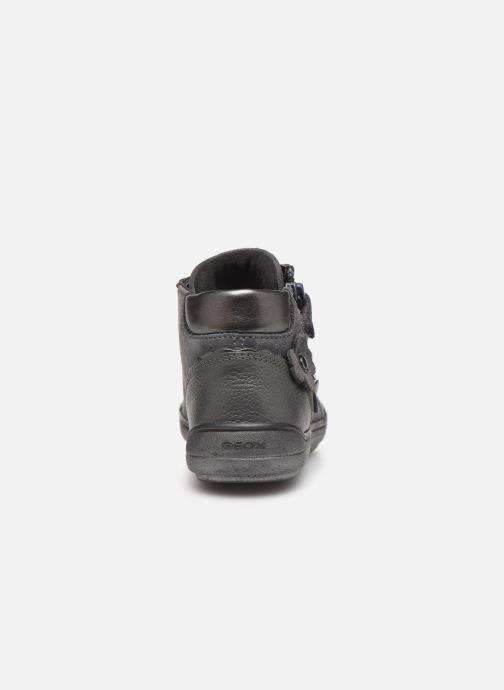 Sneakers Geox J Hadriel Girl J947VA Grijs rechts