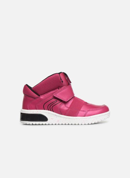 Sneakers Geox J Xled Girl J848DA Pink se bagfra