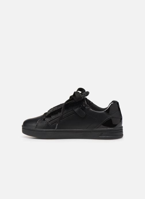Sneakers Geox J Djrock Girl J944MA Zwart voorkant