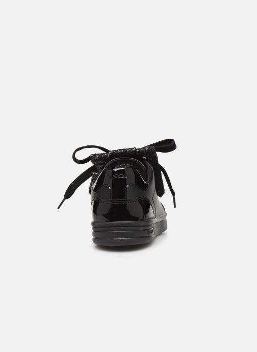 Sneakers Geox J Djrock Girl J944MA Zwart rechts