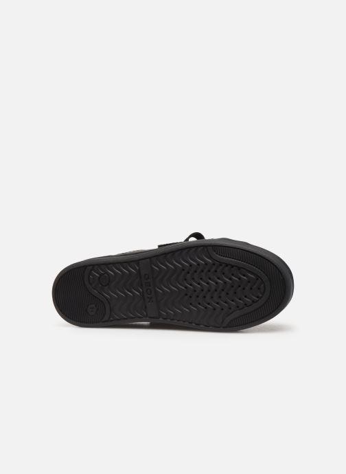 Sneakers Geox J Djrock Girl J944MA Zwart boven