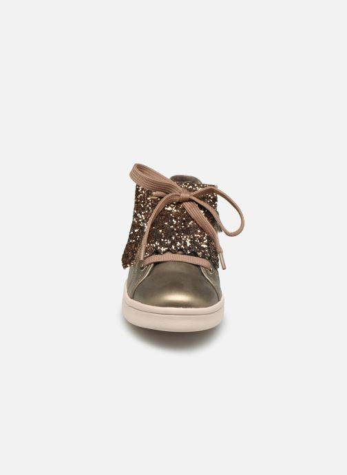 Sneakers Geox J Djrock Girl J944MA Goud en brons model