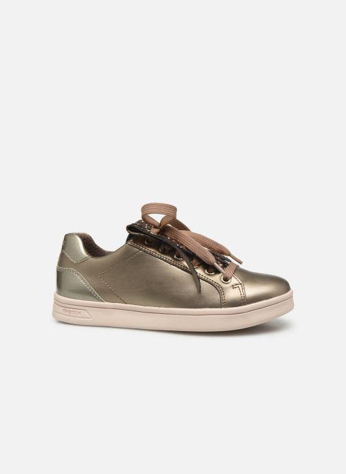 Sneakers Geox J Djrock Girl J944MA Goud en brons achterkant