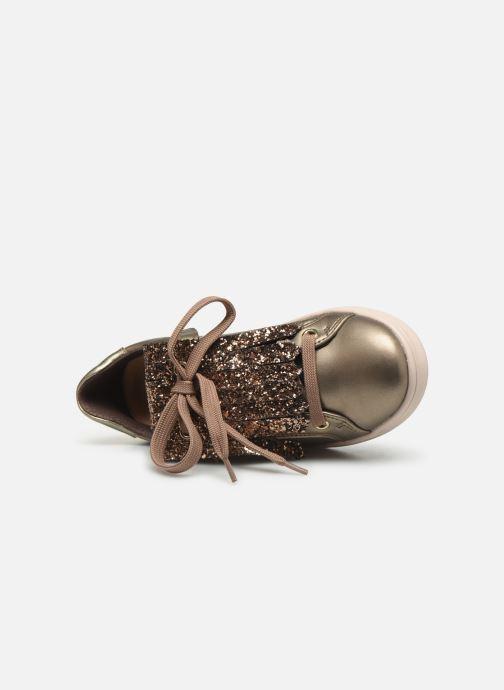 Sneakers Geox J Djrock Girl J944MA Goud en brons links
