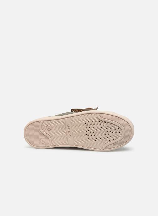 Sneakers Geox J Djrock Girl J944MA Goud en brons boven