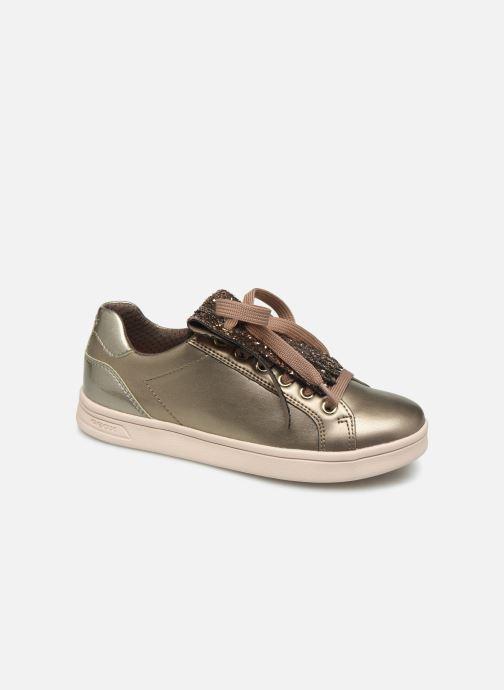 Sneakers Geox J Djrock Girl J944MA Goud en brons detail