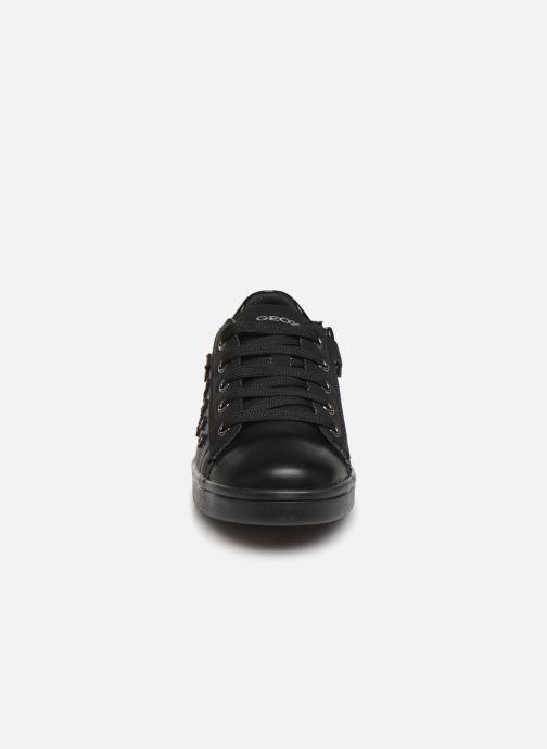 Baskets Geox J Djrock Girl J944MF Noir vue portées chaussures