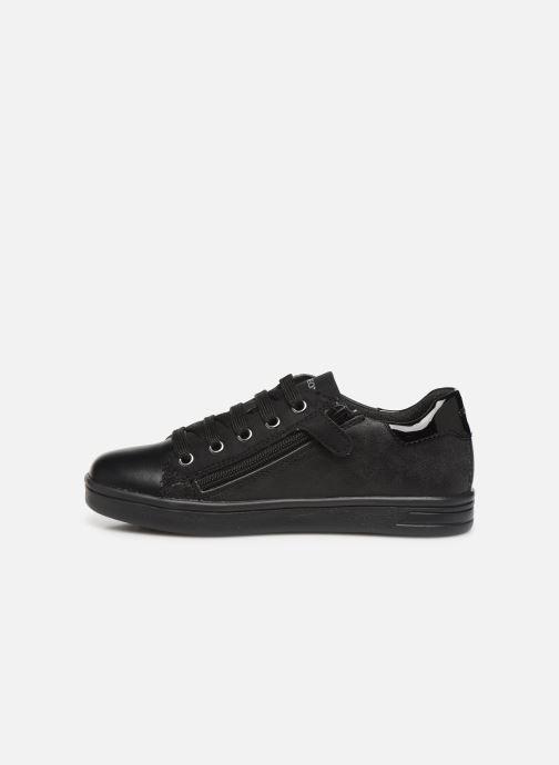 Sneakers Geox J Djrock Girl J944MF Sort se forfra