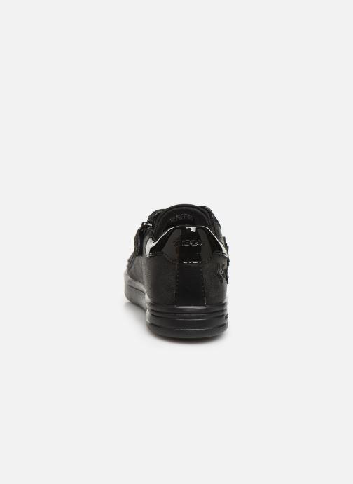 Sneakers Geox J Djrock Girl J944MF Sort Se fra højre