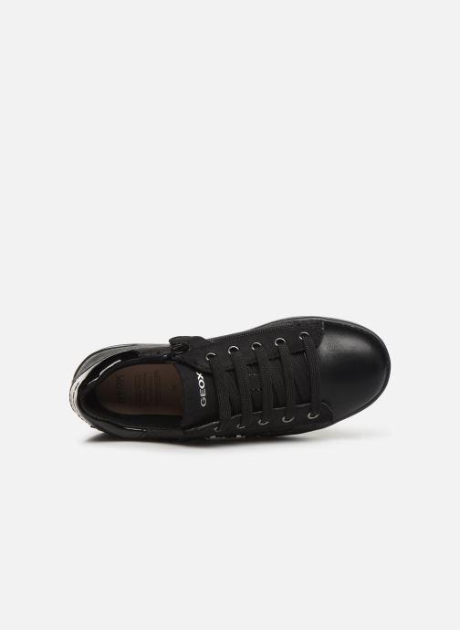 Sneakers Geox J Djrock Girl J944MF Zwart links