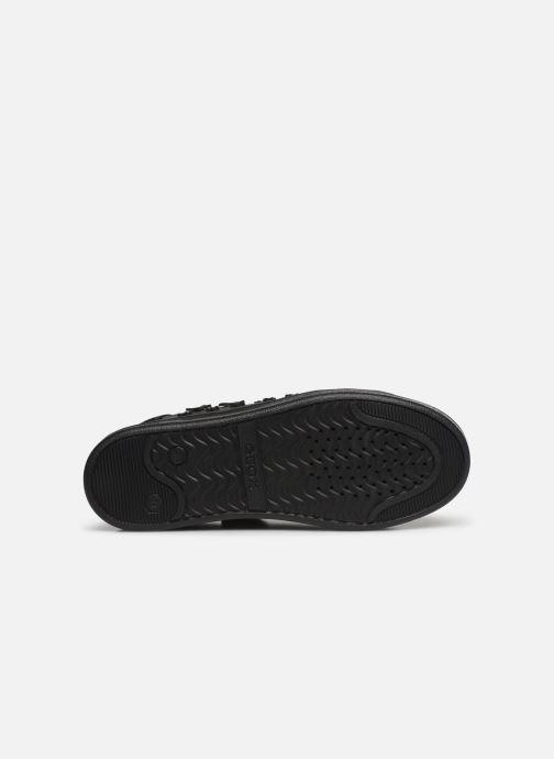 Sneakers Geox J Djrock Girl J944MF Zwart boven