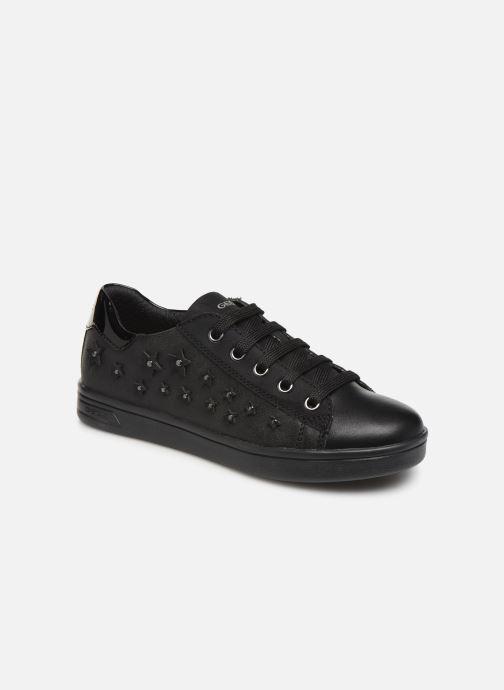 Sneakers Geox J Djrock Girl J944MF Sort detaljeret billede af skoene