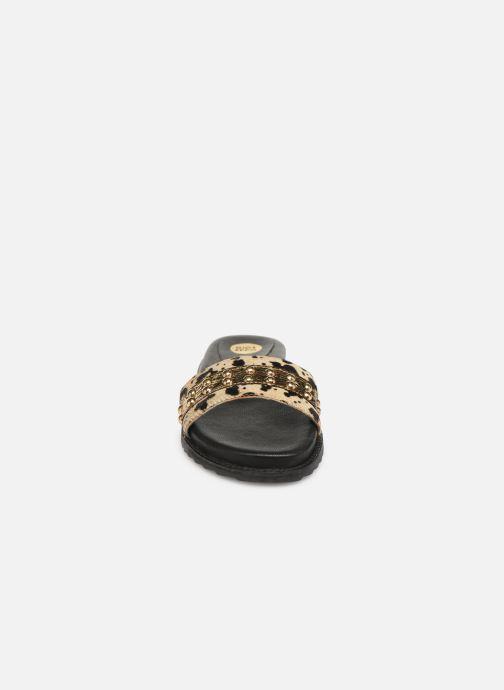 Clogs & Pantoletten Gioseppo 43450 gold/bronze schuhe getragen