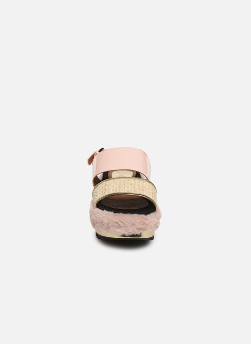 Sandales et nu-pieds Gioseppo 44053 Rose vue portées chaussures