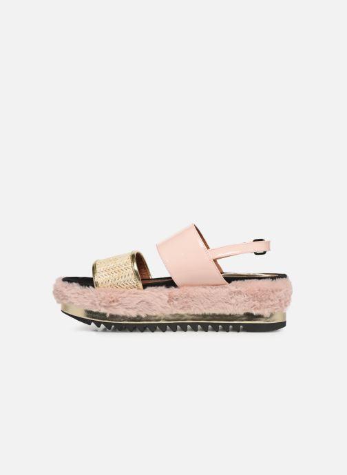 Sandalen Gioseppo 44053 rosa ansicht von vorne
