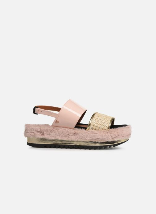 Sandalen Gioseppo 44053 rosa ansicht von hinten