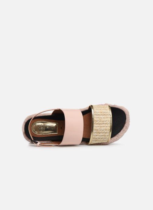 Sandalen Gioseppo 44053 rosa ansicht von links