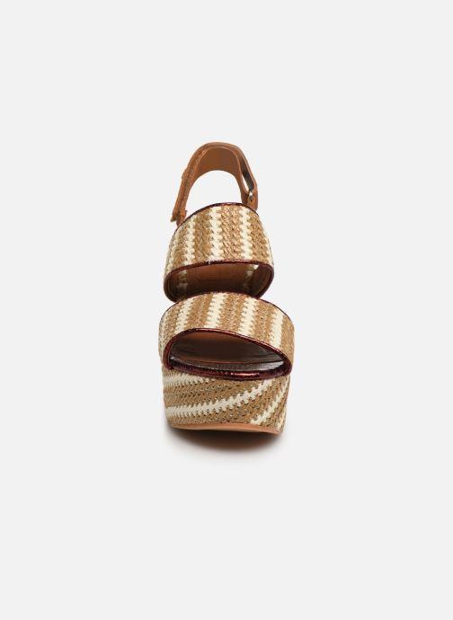 Sandales et nu-pieds Gioseppo 44090 Beige vue portées chaussures