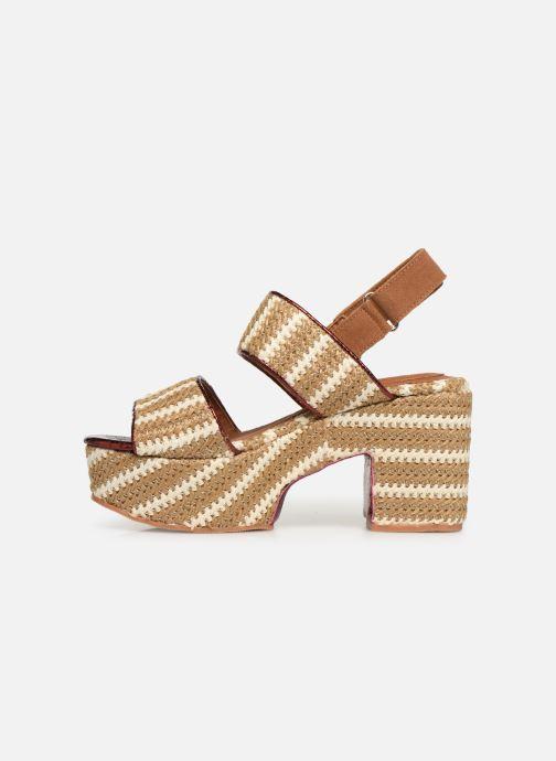 Sandales et nu-pieds Gioseppo 44090 Beige vue face